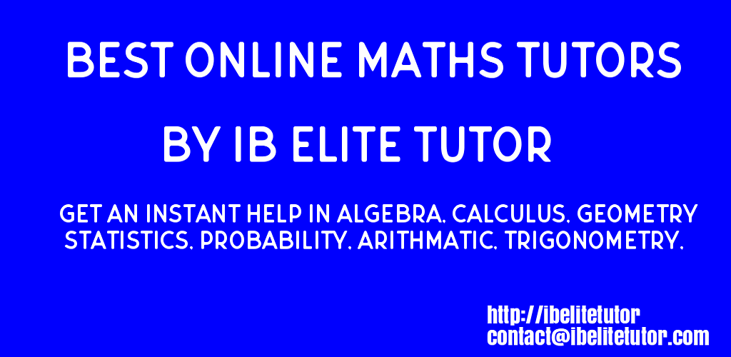 Online Math Tutors | Best Math tutors online | Online homework help.