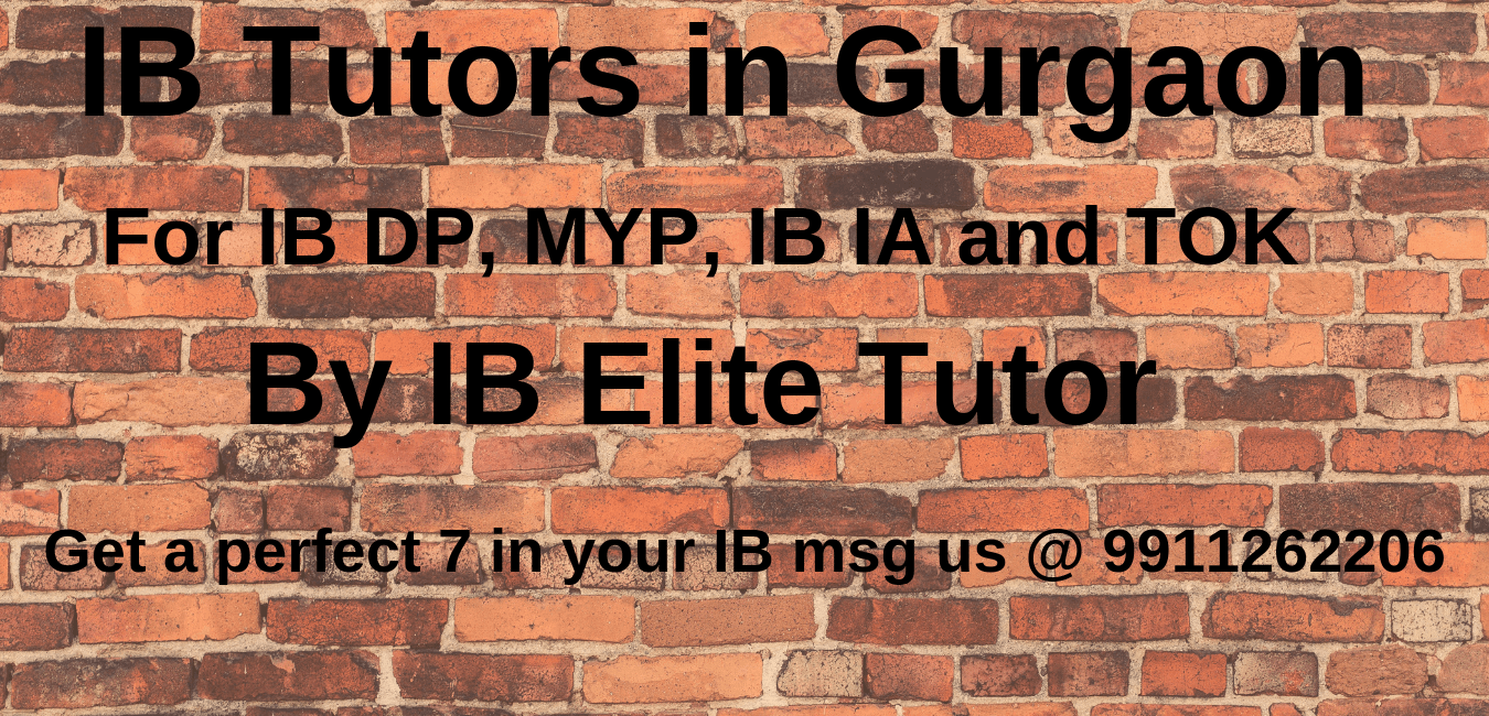 ib home tutors in gurgaon