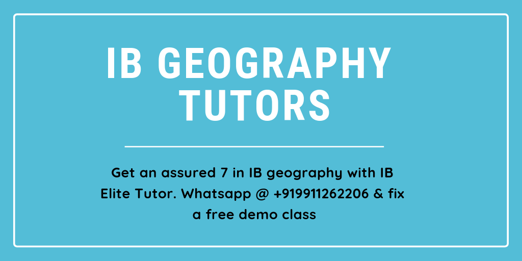 IB Geography Tutors