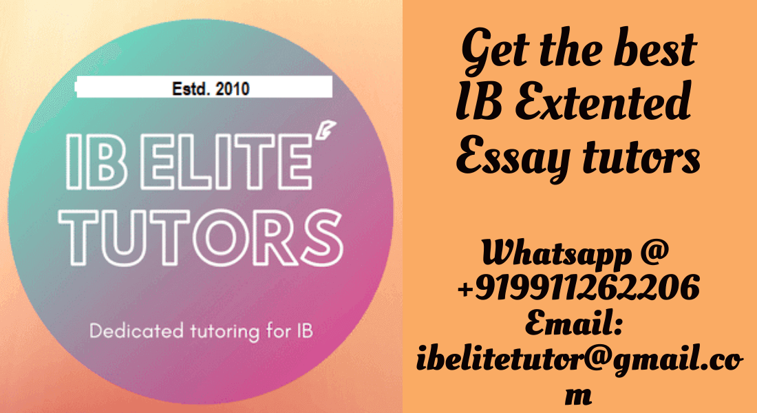 What is extended essay ib