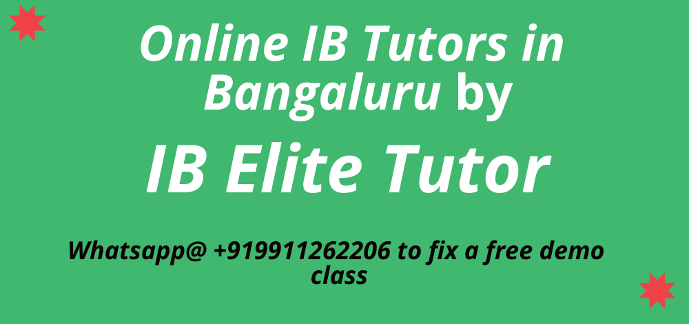 Online IB Tutors in Banglore