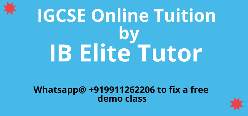igcse online tuition