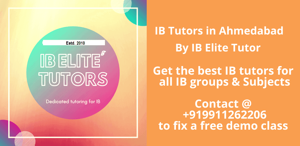 ib tutors in ahmedabad