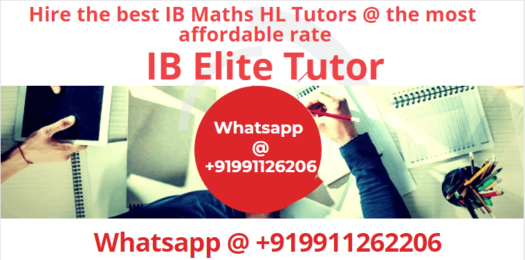 IB Maths HL Tutors