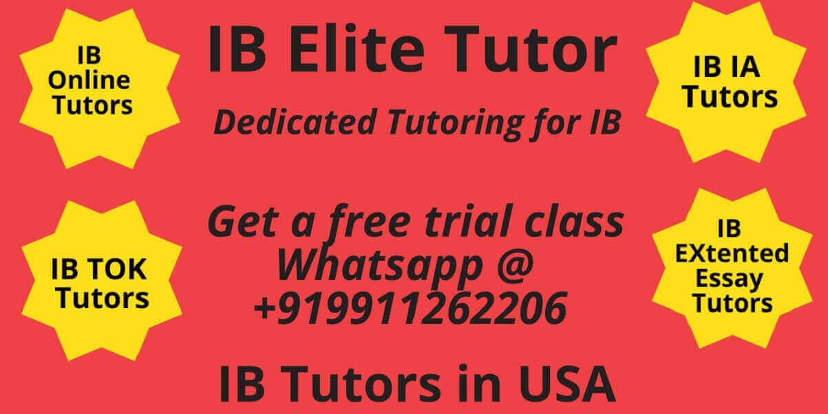 IB Tutors in USA